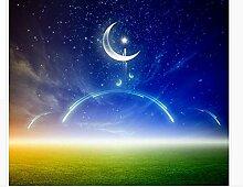 Hxfhxf Schöne Himmelwiese, Meteor Mond,