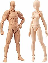 HXHON Menschliche Mannequin Action-Figuren-Set mit