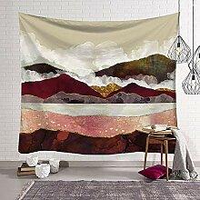 HXIEX SHOP Nordischen Stil Wandteppich Wandbehang