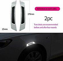 HXLF Mode-Aufkleber Auto Aufkleber 5D Carbon Fiber