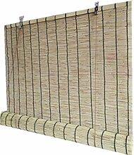 HXZ Außenrollo, Reed Bambus Vorhang, Innen/Außen