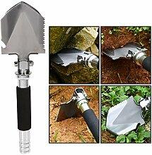 HXZDP Outdoor Camping Schaufel Multifunktionale