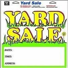 Hy-Ko #22616 13x13 YD Sale Sign by Hy-Ko