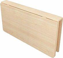 HY-Tische Klapptisch aus Holz Esszimmer Tisch