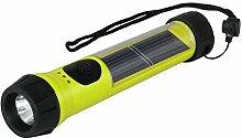 Hybrid-Light wiederaufladbare Solar Taschenlampe