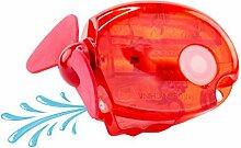HyCell Hand-Ventilator mit Sprühfunktion (1900-0076 / 104 × 70 × 25 mm / rot) zur Abkühlung an heißen Sommertagen, batteriebetrieben
