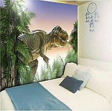 HYDDAXJW Dschungel Dinosaurier Muster Dekoration