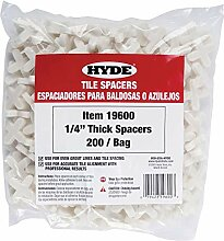 Hyde Werkzeuge 196001/4-Zoll dick Tile Spacer,