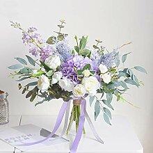 Hydrangea-Blumenstrauß, Braut Hochzeit Simulation