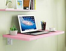 HYDT Kleine Wohnung Falten Computer Schreibtisch Desktop Notebook Computer Schreibtisch Einfache Falttisch Größe Optional ( größe : 120*50cm )