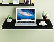 HYDT Massivholz Wand Tisch Falttisch Esstisch Wand Tisch Einfach Falttisch Größe Optional ( größe : 70*40cm )