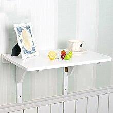 HYDT Massivholz Wand Tisch Falttisch Esstisch Wand