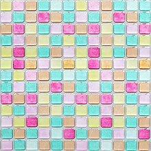 HyFanStr 3D Fliesenaufkleber Mosaik,