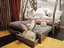Hyggelia Tipi Bett und Zwei Schubladen und Zwei