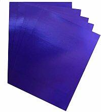 Hygloss Metallfolie Tafelfolie dunkelblau