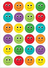 Hygloss Products Smiley-Aufkleber, 2,5 cm,