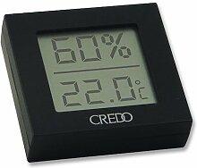 Hygrometer mit Thermometer Credo Digital aus