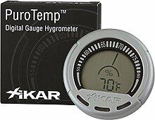 Hygrometer PuroTempTM von Xikar -