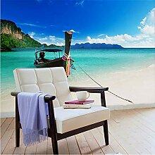 Hyiiw Fototapete, Motiv: Strand, selbstklebend,