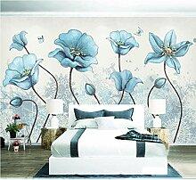 Hyiiw Wandtapete mit Blumenmuster, für
