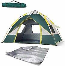 HYLL Kuppelzelt 4-Türen und Fenster, Pop-Up-Zelte