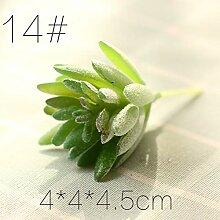 HYLZW Künstliche Blume Topfpflanze Verschiedene