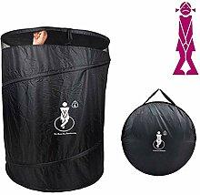 HYM Tragbare Toilette Faltbar - Geeignet FüR