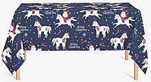 HYO Tischdecke Weihnachten 140x180 cm bun