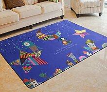 HYRL Carpets Große Teppiche Cartoon Kinderzimmer