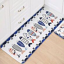 HYRL Carpets Lange Bodenmatte Badezimmer Runner