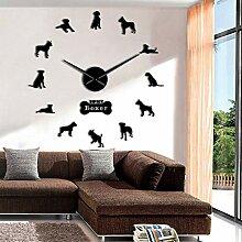 hysxm 27 Inch Verschiedene Hunderassen Wandkunst