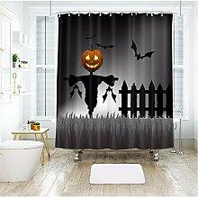 hysxm Halloween Kürbis Licht Vogelscheuche