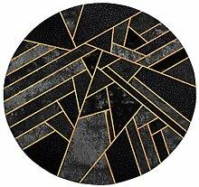 HYXI-Teppiche Dekoration Multi-Size Round Carpet &