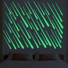 HYXLN Diy meteor streifen leuchtende aufkleber