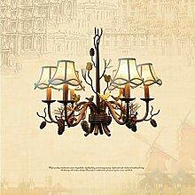 HYY-AA Anhänger Lampe Retro Birdie Kronleuchter
