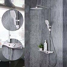 HYY-YY Duschset 1 Set Duscharmatur Set Badezimmer