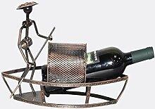 HYY-YY Europäisches Weinregal im Boot-Stil,