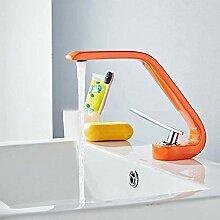 HYY-YY Fashion Creative Orange Waschbecken