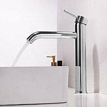 HYY-YY Moderne Waschbecken mit hohem Wasserhahn,