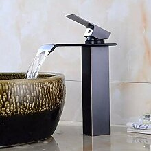 HYY-YY Waschbecken aus Edelstahl, mit Wasserfall,