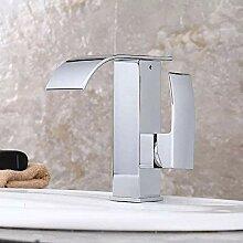 HYY-YY Waschbecken Wasserhahn, antike Optik, für