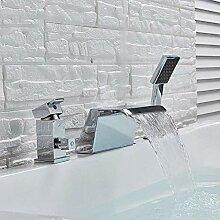 HYY-YY Wasserhahn Küchenarmatur mit breitem