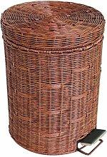 HZ®Mülleimer Mülleimer Mode Bambus Und Rattan