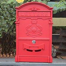 HZB Europäische Mailbox Villa Mailbox Outdoor