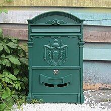 HZB Europäischen Stil Villa, Briefkasten,