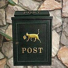 HZB Hängender Briefkasten für Außenwand des