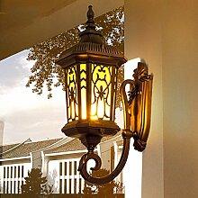HZB Hof-Wandlampe im Freien, europäischer
