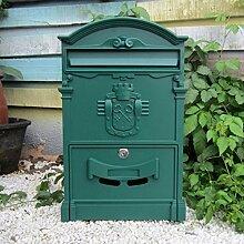 HZBa Europäischen Stil Villa Mailbox Wandbehang