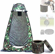 HZGrille Camping Toilette mit 1,9 m Campingzelt,