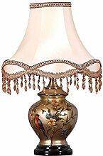 HZH Europäischen Stil Palace Retro Tischlampe